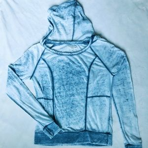 Urban outfitters grey hoodie shirt